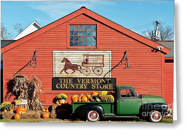 Vermont Country Store Greeting Cards - Vermont Country Store Greeting Card by John Greim