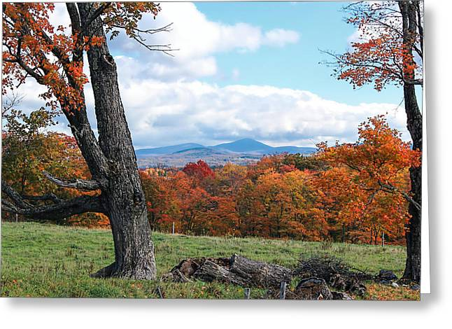 Charlotte Vermont Greeting Cards - Vermont Countryside Greeting Card by William Alexander