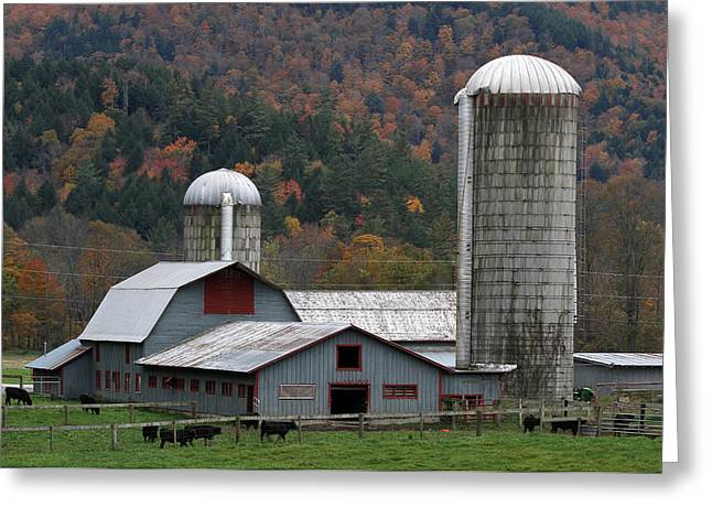 Quite Greeting Cards - Vermont Farm Greeting Card by Juergen Roth
