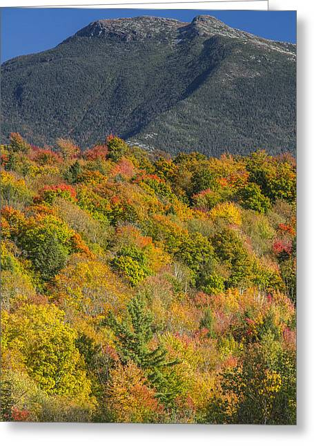 Scenic Drive Greeting Cards - Vermont Autumn foliage Mountain Fall Landscape Greeting Card by Andy Gimino