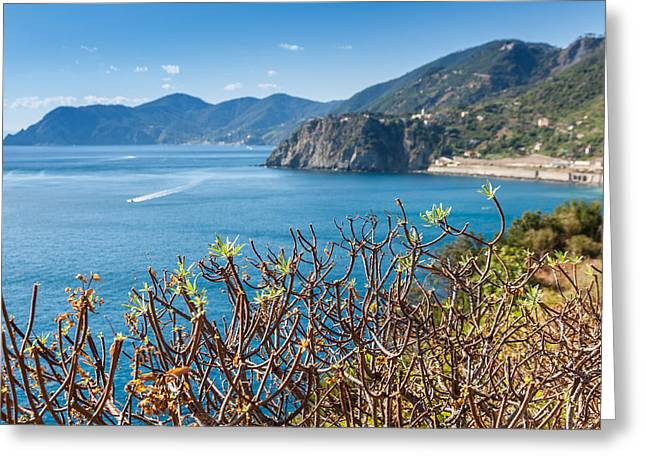 Europe Greeting Cards - Vernazza Greeting Card by Marco Ledda