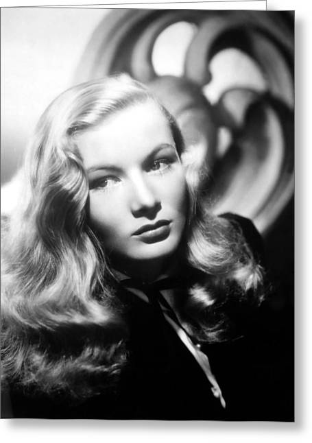 """red Carpet"" Greeting Cards - Veronica Lake Greeting Card by Nomad Art And  Design"