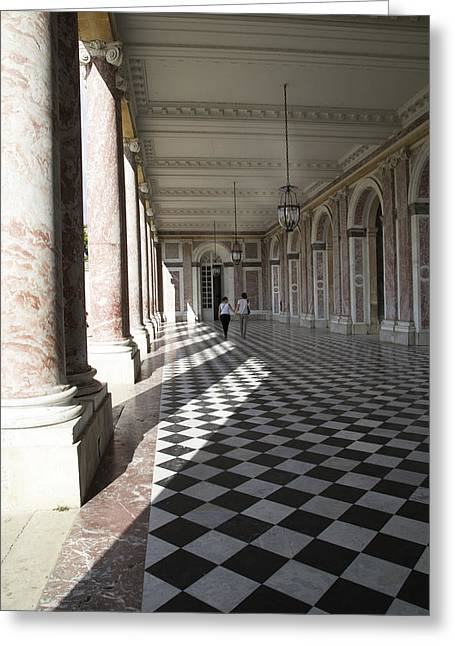Trianon Greeting Cards - Versailles Grand Trianon Greeting Card by Andi Murphy