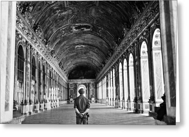 Liberation Greeting Cards - Versailles: Hall Of Mirrors Greeting Card by Granger