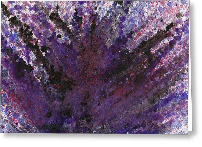 Vertigo Paintings Greeting Cards - Vertigo Greeting Card by Eric Forster