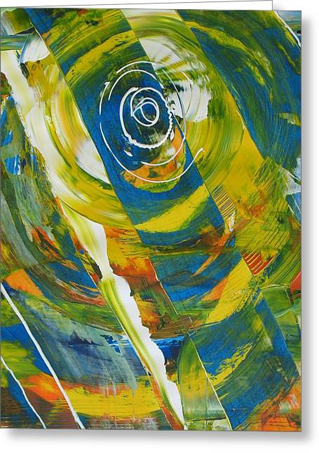 Vertigo Greeting Cards - Vertigo Greeting Card by Louise Adams