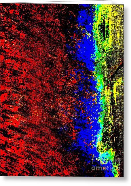 Vertigo Paintings Greeting Cards - Vertigo Greeting Card by Tim Townsend