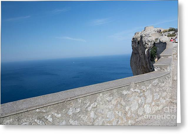 Vertigo Greeting Cards - Vertigo View Formentor Greeting Card by Christina Rahm