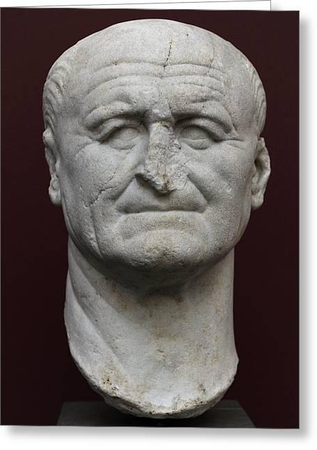 Vespasian Greeting Card by Roman School