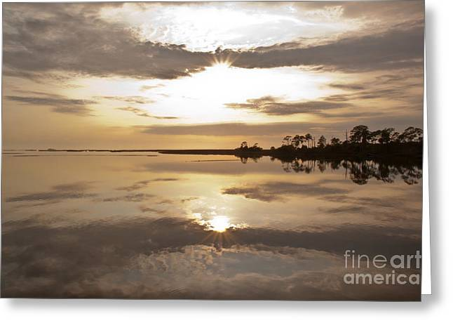 Cedar Key Greeting Cards - Vespers Greeting Card by Kathi Shotwell