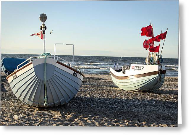 North Sea Greeting Cards - Vest coast traditon Greeting Card by Eric Sloan