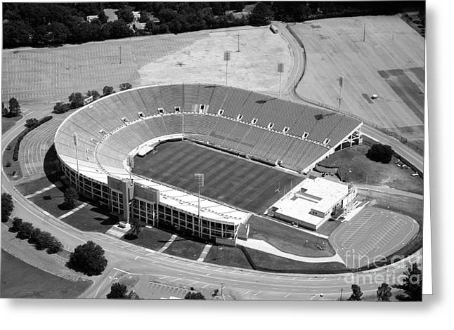 Veterans Stadium Greeting Cards - Veterans Memorial Stadium Jackson Mississippi Greeting Card by Bill Cobb
