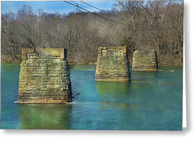 Rapids Greeting Cards - Vibrant Memories Greeting Card by Betsy C  Knapp