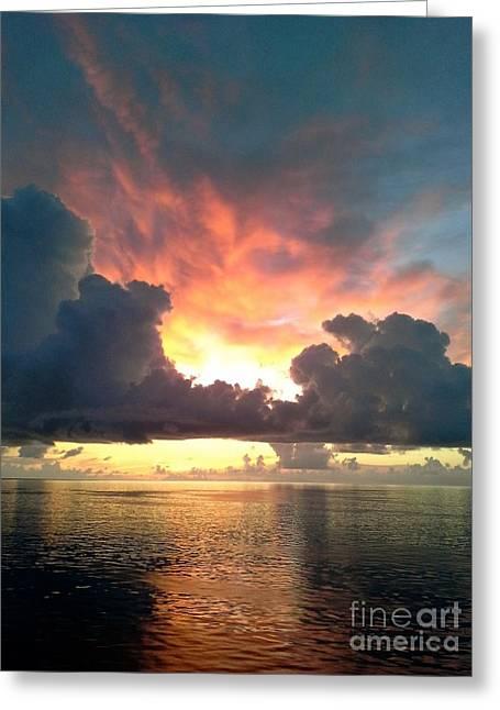 Awapara Greeting Cards - Vibrant Skies 2 Greeting Card by Patricia Awapara