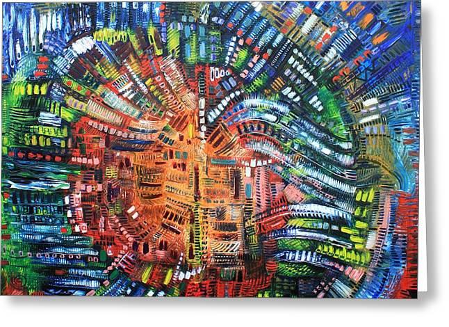 Michael Kulick Greeting Cards - Vibration Greeting Card by Michael Kulick