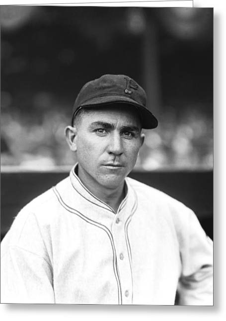 Pittsburgh Pirates Greeting Cards - Victor E. Vic Aldridge Greeting Card by Retro Images Archive