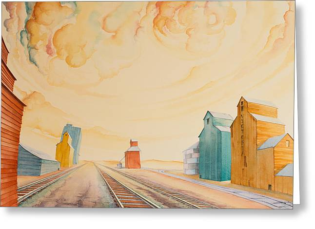 High Plains Greeting Cards - Victoria and Her Sisters Greeting Card by Scott Kirby