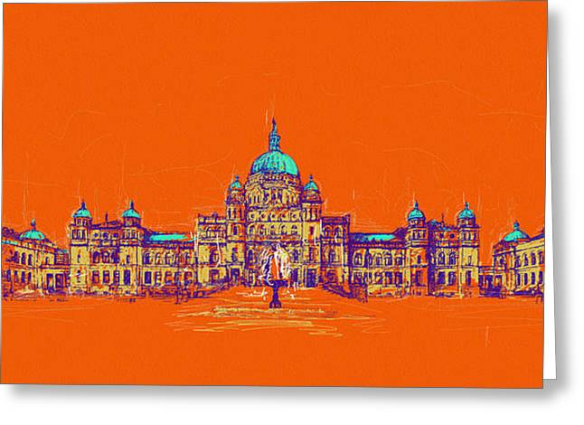 Victoria Art 006 Greeting Card by Catf