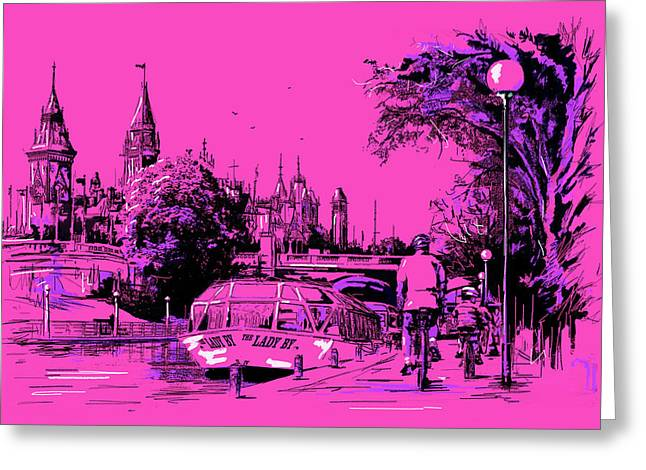 Victoria Art 012 Greeting Card by Catf