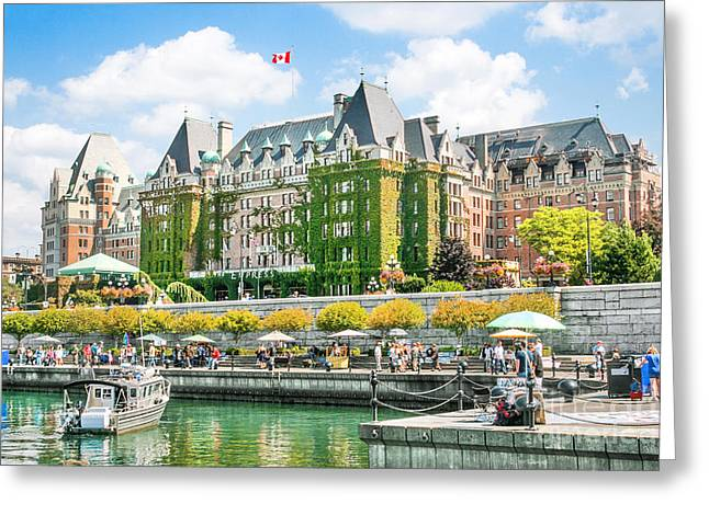 British Columbia Greeting Cards - Victoria Greeting Card by JR Photography