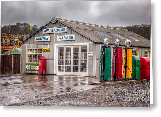 National Digital Art Greeting Cards - Victorian Garage Greeting Card by Adrian Evans