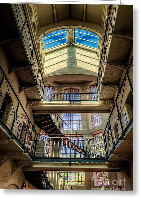 Facility Greeting Cards - Victorian Jail Greeting Card by Adrian Evans