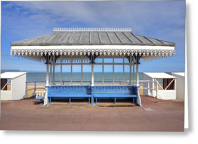 Victorian Photographs Greeting Cards - Victorian Shelter - Weymouth Greeting Card by Joana Kruse