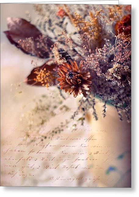 Treatment Greeting Cards - Victorian Treatment Greeting Card by Jessica Jenney