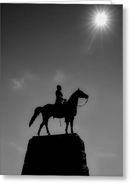 The General Lee Greeting Cards - Victory at Gettysburg Greeting Card by Larry Helms