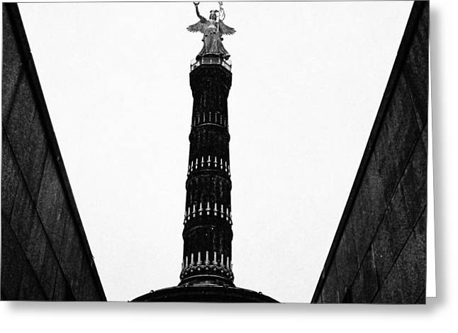 Historical Pictures Greeting Cards - Victory Column I Greeting Card by Marco Oliveira