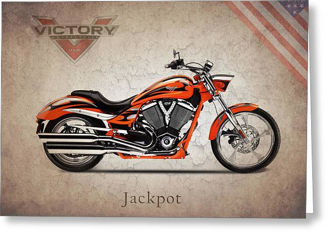 Victory Greeting Cards - Victory Jackpot Greeting Card by Mark Rogan
