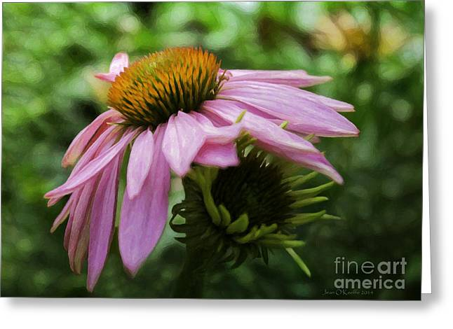 Reverence Greeting Cards - Victory Song Greeting Card by Jean OKeeffe Macro Abundance Art
