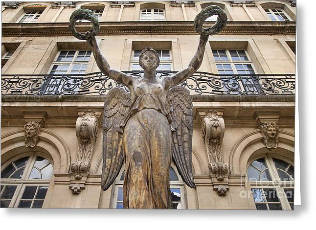 Victoire Greeting Cards - Victory Statue - Paris Greeting Card by Brian Jannsen