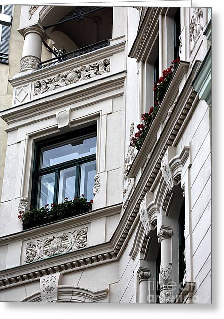 Old Vienna Greeting Cards - Vienna Details Greeting Card by John Rizzuto