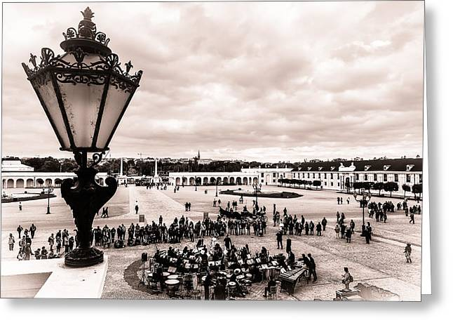 Recently Sold -  - Streetlight Greeting Cards - Vienna waltz Greeting Card by Sergey Simanovsky