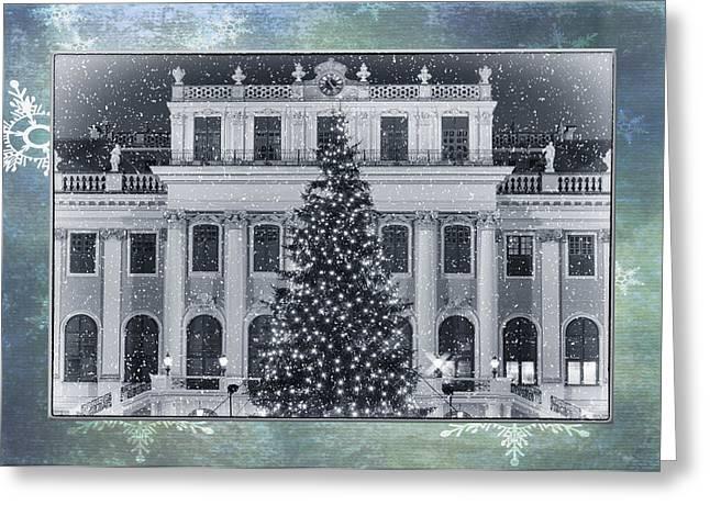 Christmas Greeting Greeting Cards - Viennese Christmas Wonderland Greeting Card by Joan Carroll