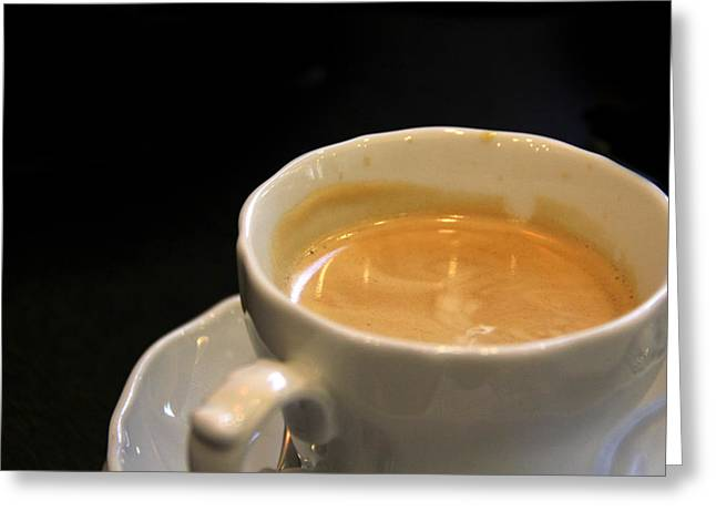 Morning Breakfast Greeting Cards - Viennese Coffee Greeting Card by Nancy Ingersoll