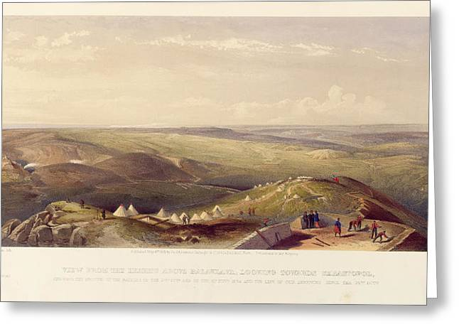 View Above Balaklava Greeting Card by British Library