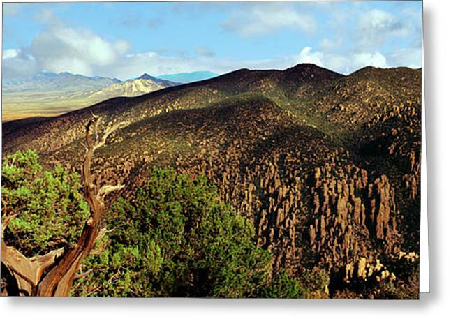View Along The Sugarloaf Mountain Greeting Card by Panoramic Images