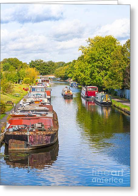 Historic Ship Greeting Cards - View From A Bridge Greeting Card by Peter Smith