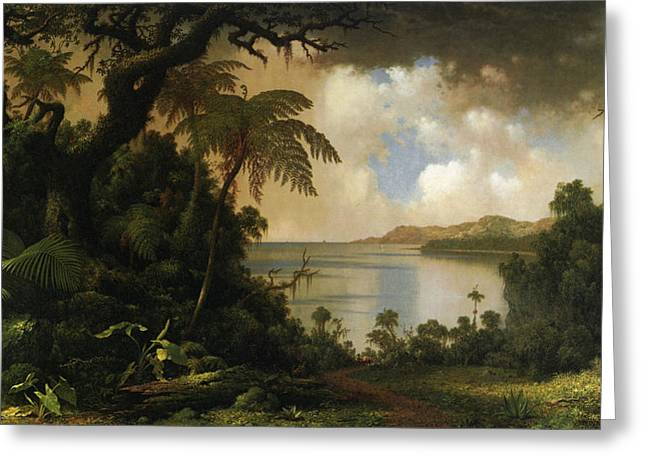 Seascape Greeting Cards - View From Fern Tree Walk Jamaica Greeting Card by Martin Heade