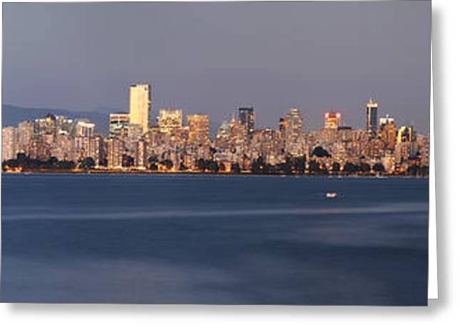 View From Spanish Banks Greeting Card by Dan Breckwoldt
