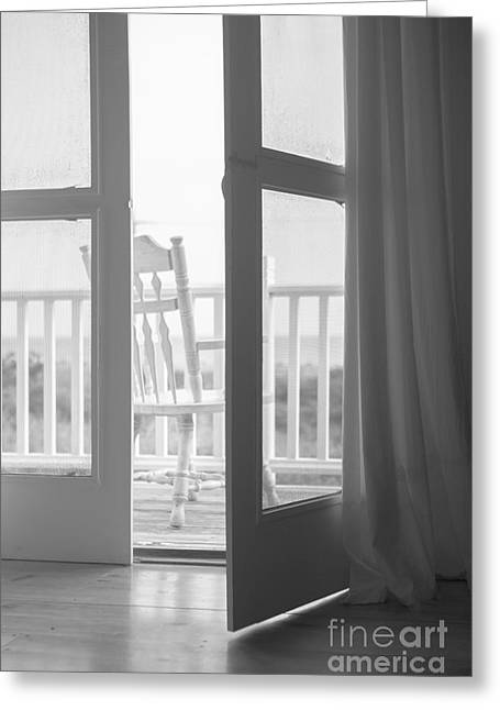 Inviting Greeting Cards - View from the Beach House Greeting Card by Diane Diederich