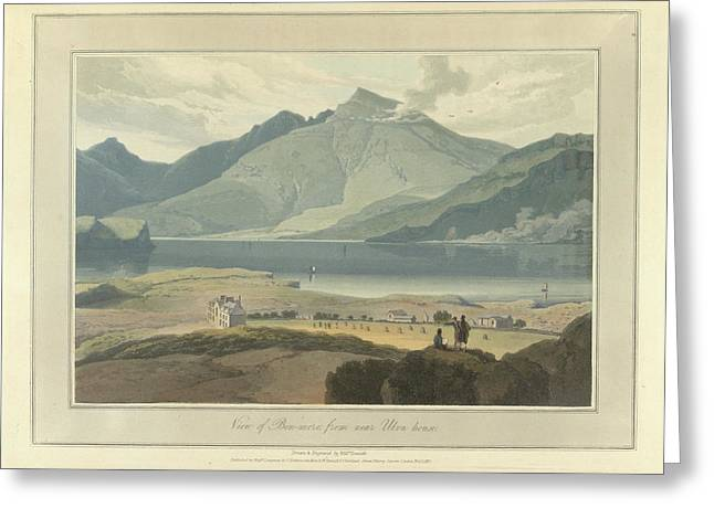 View Of Ben-more From Near Ulva House Greeting Card by British Library