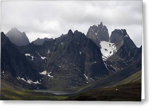 Monolith Greeting Cards - View Of Mount Monolith From Grizzly Greeting Card by Mark Newman