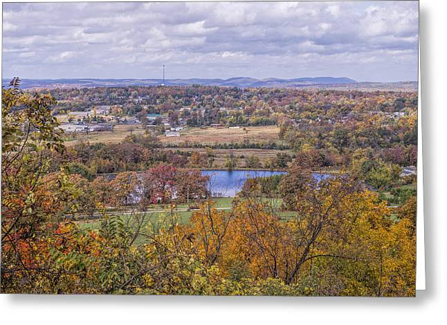 Arkansas Greeting Cards - View of Mountain View Arkansas Greeting Card by Bonnie Barry