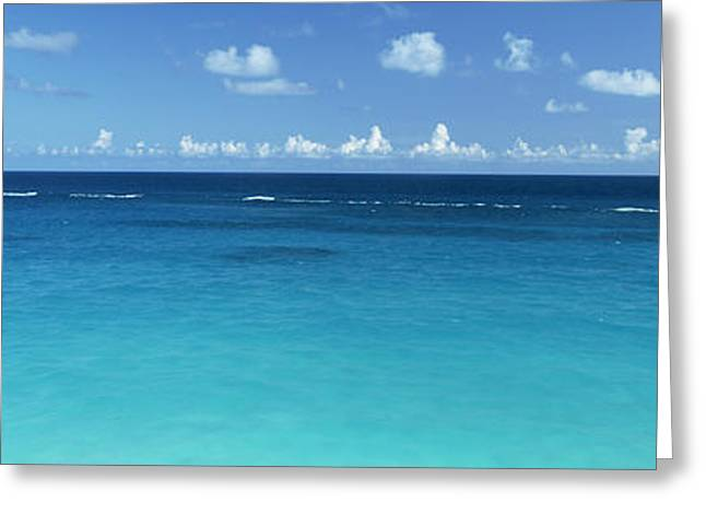 Ocean Images Greeting Cards - View Of The Atlantic Ocean, Bermuda Greeting Card by Panoramic Images
