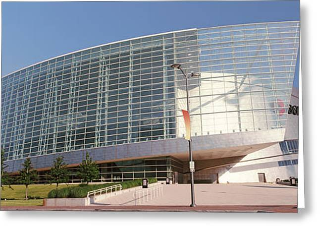 View Of The Bok Center, Tulsa Greeting Card by Panoramic Images