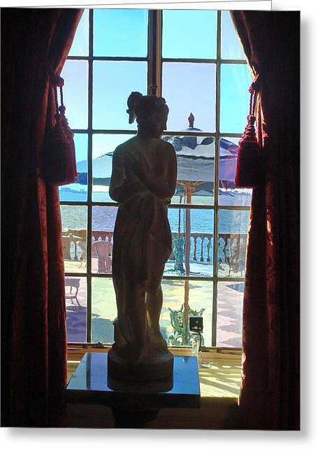 Family Of Doctors Greeting Cards - View of the Terrace Greeting Card by Susan Duda
