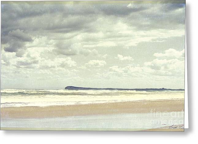 Sandy Beaches Greeting Cards - View to Barwon Heads Greeting Card by Linda Lees